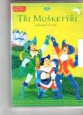 Tři mušketýři-Alexander Dumas(plast)-DVD