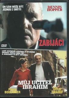 2 x DVD-Zabijáci-Můj učitel Ibrahim - DVD