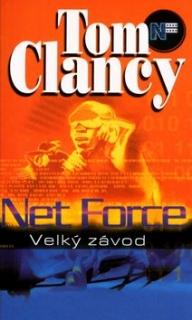 Net Force-Velký závod-Tom Clancy(bazarové zboží)