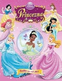 Disney princezna-Knížka na rok 2011