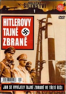 Válečné šílenství 1 - Hitlerovy tajné zbraně ( pošetka ) - DVD