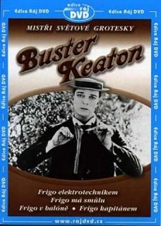 Buster Keaton: Kolekce grotesek 2 (Frigo elektrotechnikem...) - DVD