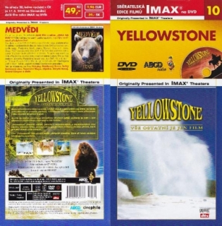 IMAX - 10 - Yellowstone - DVD