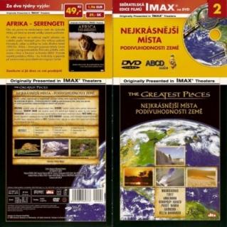 IMAX - 2 - Nejkrásnější místa - Podivuhodnosti Země - DVD