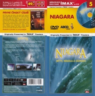 IMAX - 5 - Niagara - Mýty,kouzla a zázraky - DVD