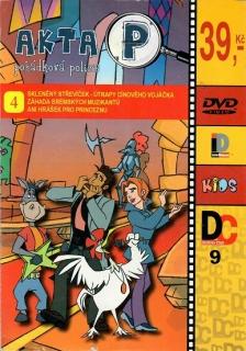 Akta P 4 ( pošetka) DVD