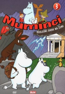 Mumínci 3 - Poslední drak na zemi - DVD