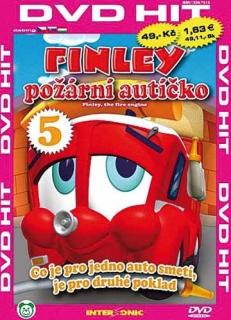 Finley - požární autíčko - 5 - DVD