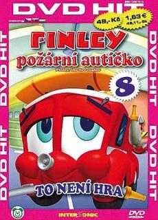 Finley - požární autíčko - 8 - DVD