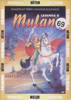 Legenda o Mulan - DVD