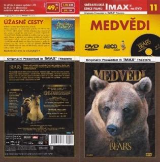 IMAX - 11 - Medvědi - DVD