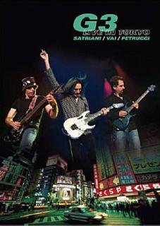 G3 Satriani Vai Petrucci - Live in Tokyo - DVD