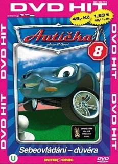 Autíčka 8 - DVD