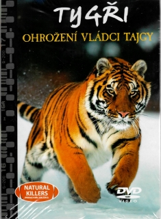 Tygři - ohrožení vládci Tajgy - DVD + brožura