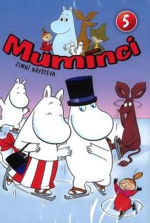 Mumínci 5 - Zimní návštěva - DVD