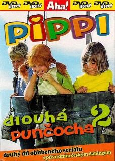 Pippi dlouhá punčocha 2 - DVD