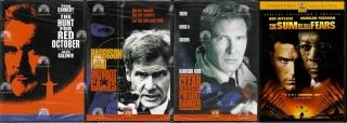 Kolekce filmů  Jack Ryan / Tom Clancy - 4x DVD