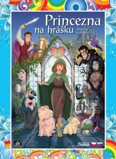 Princezna na hrášku (animovaná) - DVD