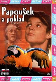 Papoušek a poklad - DVD