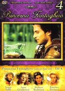 Princezna Fantaghiro Jeskyně Zlaté růže - Díl 4 - DVD