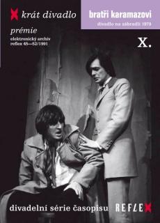 Bratři Karamazovi - X - krát divadlo - DVD