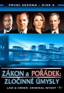 Zákon a pořádek: zločinné úmysly DISK 5 - DVD