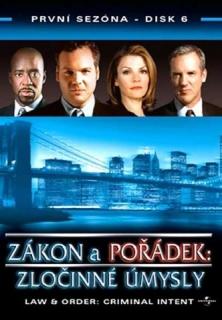 Zákon a pořádek: zločinné úmysly DISK 6 - DVD