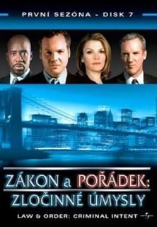 Zákon a pořádek: zločinné úmysly DISK 7 - DVD