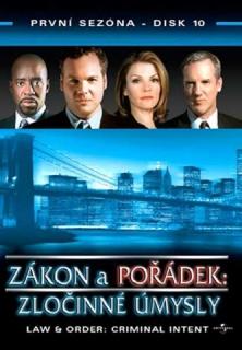 Zákon a pořádek: zločinné úmysly DISK 10 - DVD