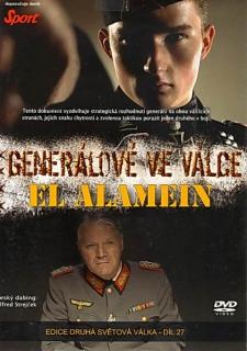Generálové ve válce - El Alamein - DVD
