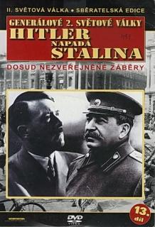 Generálové 2. světové války 13.díl - Hitler napadá Stalina - DVD