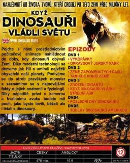 Když dinosauři vládli světu DVD 2