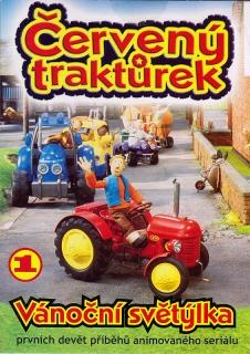 Červený traktůrek 1 - DVD