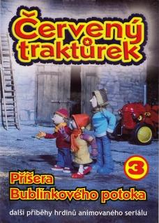 Červený traktůrek 3 - DVD