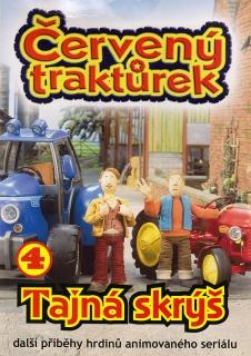 Červený traktůrek 4 - DVD