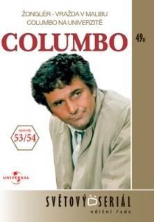 Columbo 53/54 - Žonglér - vražda v Malibu/Columbo na univerzitě - DVD
