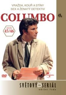 Columbo 45/46 - Vražda, kouř a stíny/Sex a ženatý detektiv - DVD