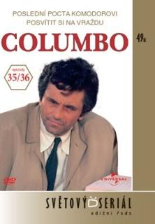 Columbo 35/36 - Poslední pocta Komodorovi/Posvítit si na vraždu - DVD