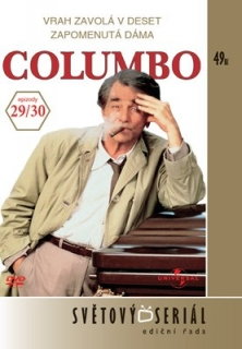 Columbo 29/30 - Vrah zavolá v deset/Zapomenutá dáma - DVD
