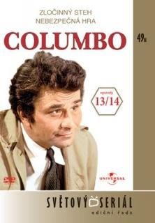 Columbo 13/ 14 - Zločinný steh/ Nebezpečná hra - DVD