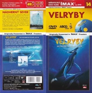 IMAX - 14 - Velryby: Nezapomenutelná cesta - DVD