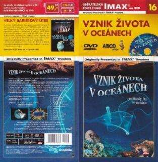 IMAX - 16 - Vznik života v oceánech - DVD