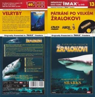 IMAX - 13 - Pátrání po velkém žralokovi - DVD