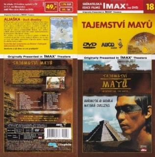 IMAX - 18 - Tajemství Mayů - DVD