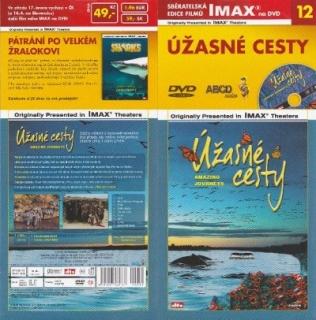 IMAX - 12 - Úžasné cesty - DVD