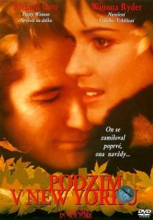 Podzim v New Yorku - DVD pošetka