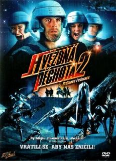 Hvězdná pěchota 2 Hrdinové Federace - DVD