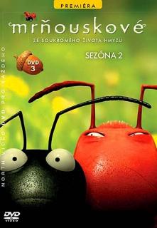 Mrňouskové - Sezona 2 DVD 3 - slim