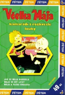 Včelka Mája- kamarádi z rozkvetlé louky - DVD