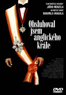 Obsluhoval jsem anglického krále - DVD papírová pošetka